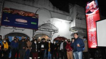 Gustavo Martínez participó de la inauguración del ateneo doctor Raúl Alfonsín