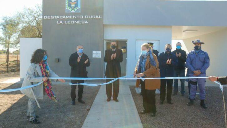 Habilitaron un nuevo destacamento rural policial en La Leonesa