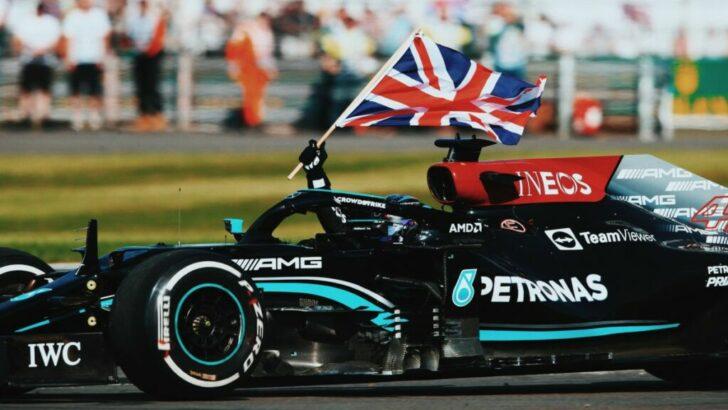 Hamilton volvió al triunfo en Silverstone