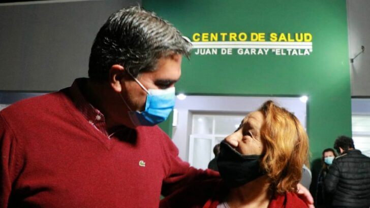 Inauguraron la refacción del centro de salud del barrio villa Juan de Garay