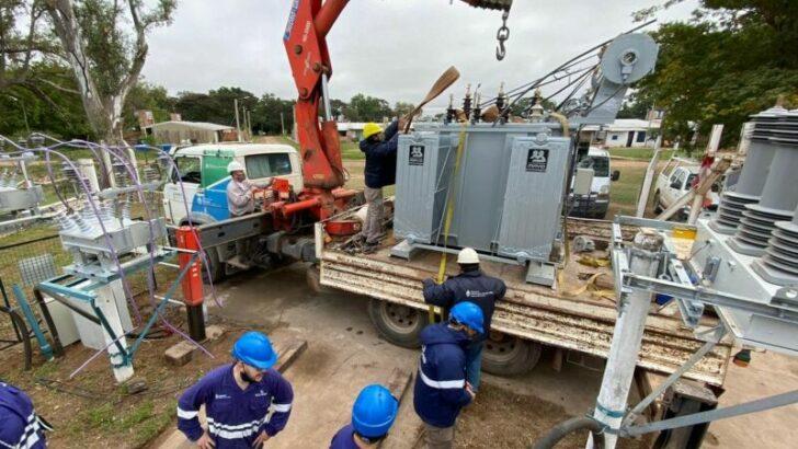 Isla del Cerrito: Secheep ejecuta obras para elevar la potencia y la calidad del servicio energético