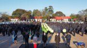 La Policía del Chaco celebra los ascensos y el anunció de aumento salarial