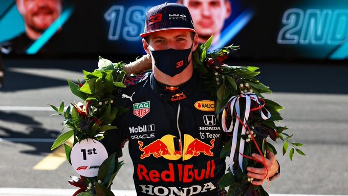 Laprimera carrera Sprint de la historia de la F1 fue para Max Verstappen