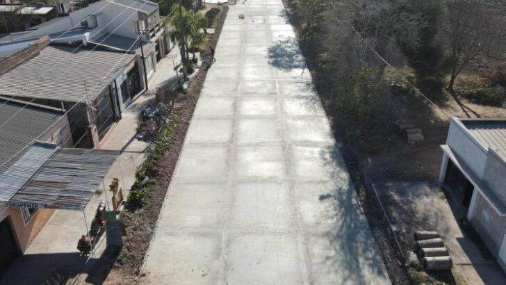 Las Breñas: se inició la pavimentación de 44 nuevas cuadras