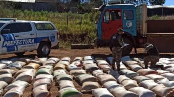 Misiones: secuestran más de seis toneladas de soja