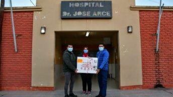 Paraje Las Hacheras: se llevó a cabo una jornada intensiva de vacunación contra  Covid 19