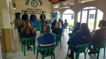Sáenz Peña: Sameep realiza obras para mejorar los servicios de agua y cloaca
