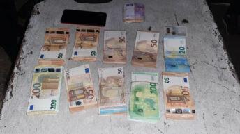 Santiago del Estero: Gendarmería secuestró 59.420 euros