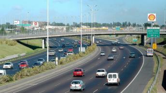 Un proyecto propone la estatización de las autopistas accesos Norte y Oeste a la CABA