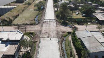 Villa Ángela: avanza la pavimentación de 16 cuadras