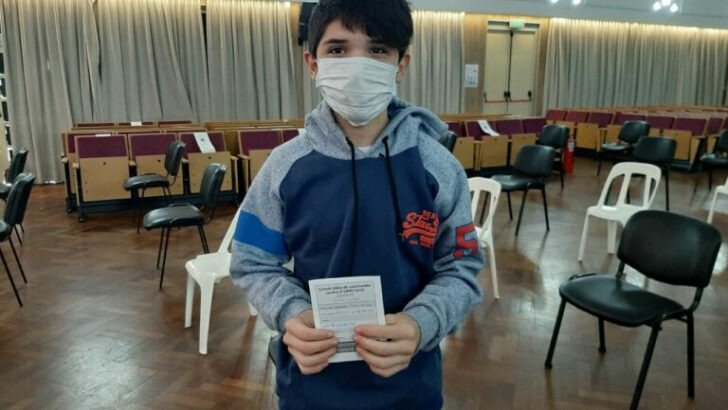 Barranqueras: comenzó la vacunación para adolescentes