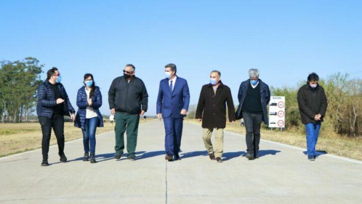 Capitanich inauguró la pavimentación de la ruta provincial N°1