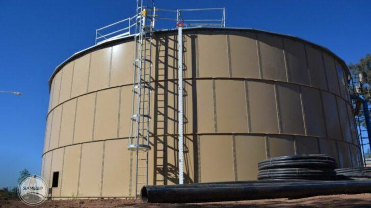 Charata: Sameep continúa con las pruebas hidráulicas del segundo acueducto