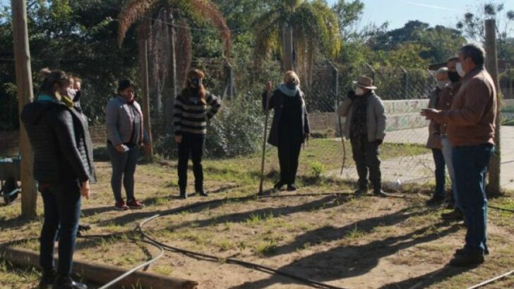 Desarrollarán una huerta orgánica en la Escuela Nº 159 de Colonia Benítez