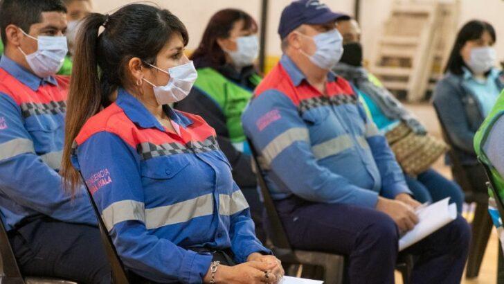 El Ministerio de Seguridad capacita a inspectores de tránsito de Barranqueras y Fontana