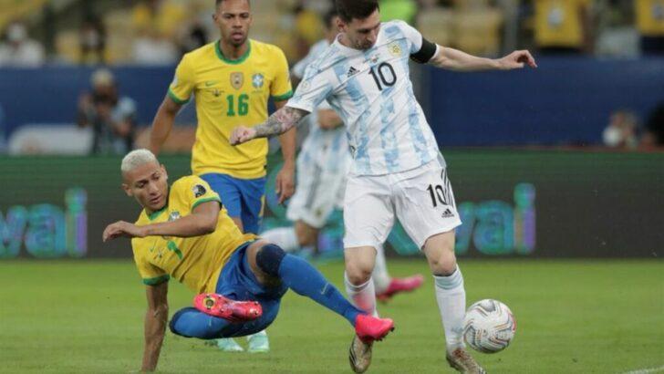 Eliminatorias sudamericanas: Brasil y Argentina sin público