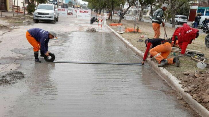 En Resistencia, el Municipio realizó bacheo en dos puntos estratégicos: avenida Mac Lean y calle Ayacucho