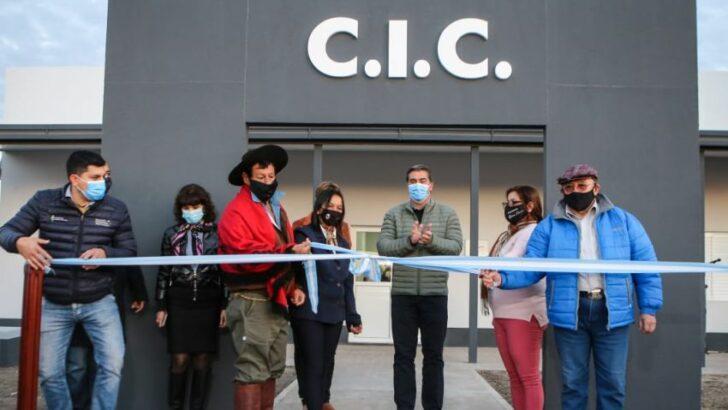Enrique Urien: inauguraron las obras de refacción del centro integrador comunitario