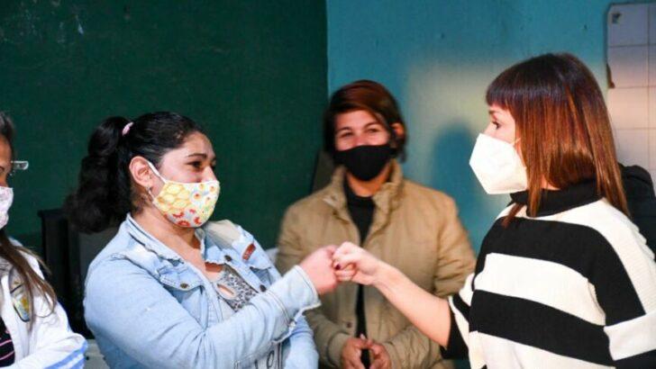 Frente de Todos Chaco: Mariela Quirós recorrió un taller textil de la economía popular