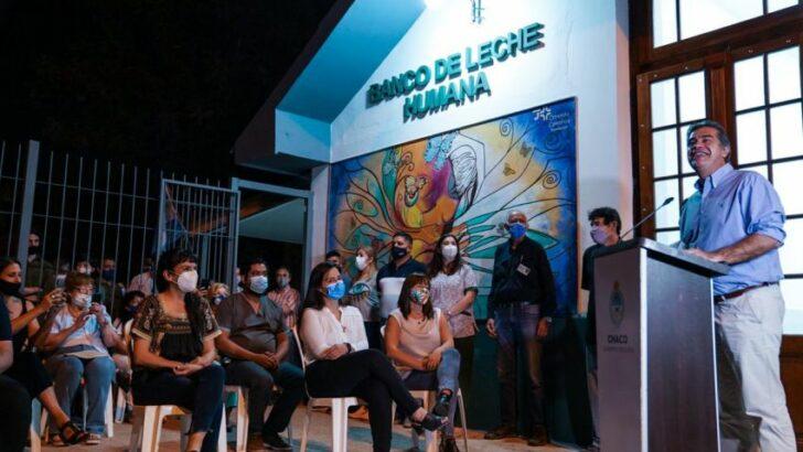 Inauguraron las obras de refacción y ampliación del Banco de Leche Humana del Perrando