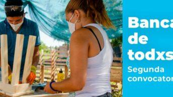 Lanzaron la segunda convocatoria de Banca de Todxs