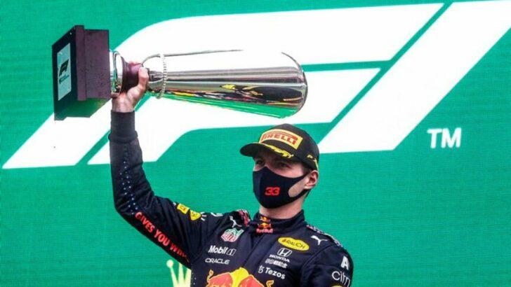 Max Verstappen fue declarado ganador sin correr del Gran Premio de Bélgica