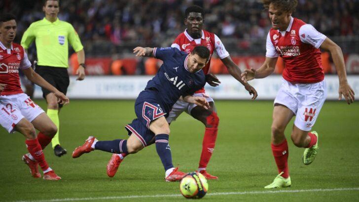 Messi debutó en el Paris Saint Germain