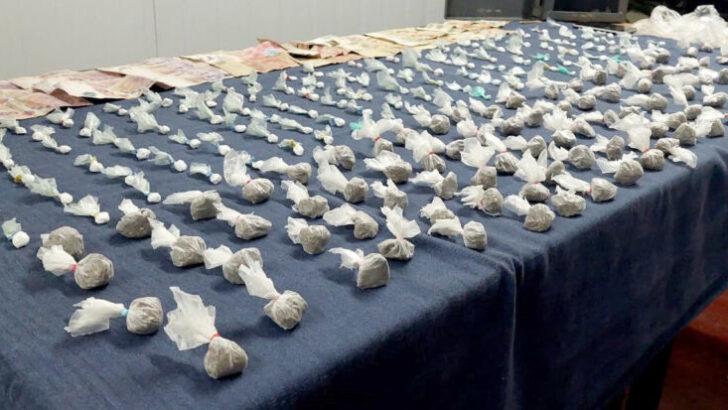 Narcomenudeo en Santa Fe: Gendarmería decomisó cocaína y marihuana listas para comercializar