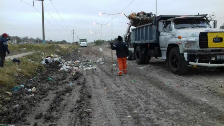 Resistencia: el Municipio erradicó minibasurales en zonas del sur y oeste capitalino