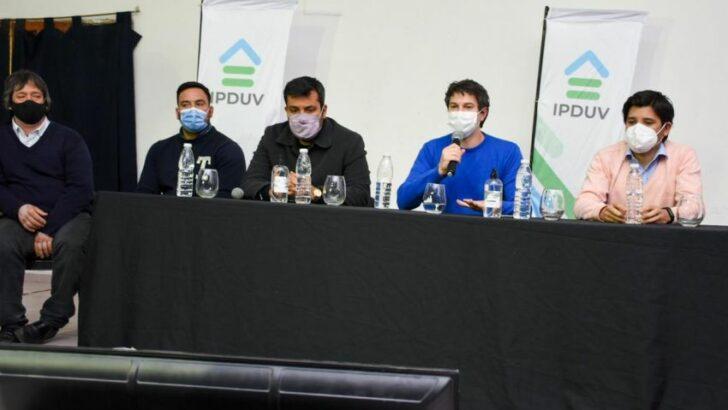 Viviendas en Du Graty: «la cantidad de inscriptos nos obliga a redoblar los esfuerzos», expresó Diego Arévalo