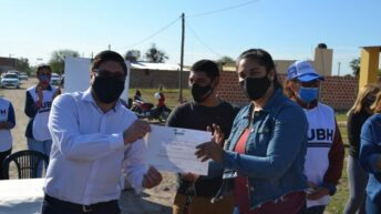 Barrio Las Palmeras: continúa con el proceso de regularización de tierras