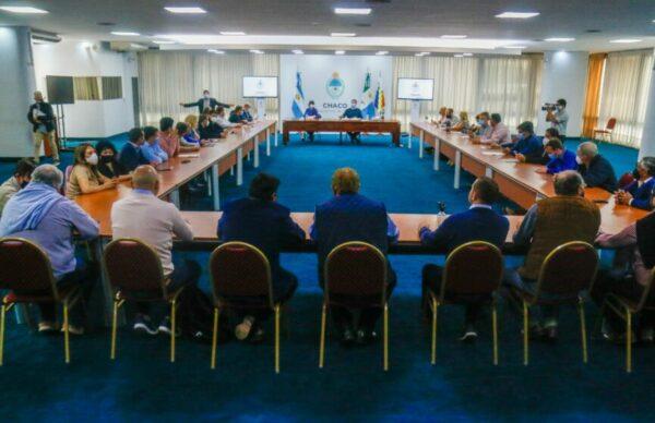 Capitanich convocó a intendentes de PJ para analizar los resultados de las PASO 1