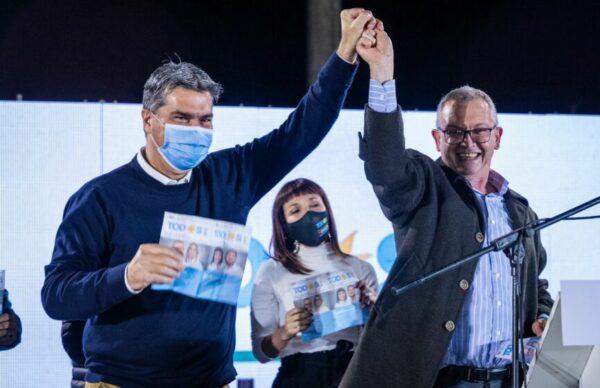 """Cierre de campaña del FDT: Capitanich pidió """"terminar con los desencuentros del pasado y defender los intereses de Chaco"""" 2"""
