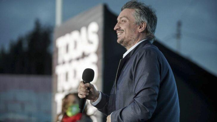 Cierre de campaña del FdT: »Diego Santilli es un nuevo caballo de Troya»