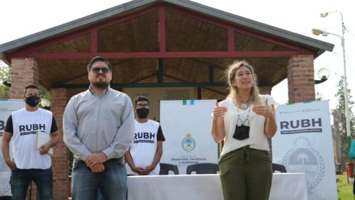 Colonia Baranda: Marta Soneira entregó 144 certificados RUBH