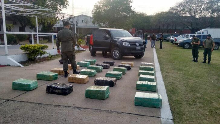 Corrientes: intento darse a la fuga con más de 536 kilos de marihuana