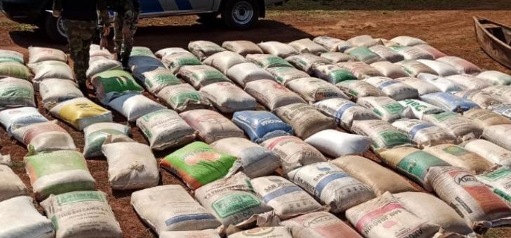 Corrientes: Prefectura secuestró cerca de 270 kilos de marihuana en Paso de la Patria