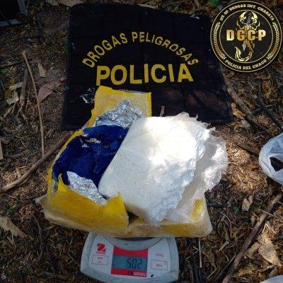 Corzuela: con casi un kilo de cocaína, no pudieron escapar de los agentes
