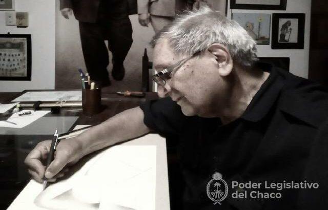 Diputados se sumó a los días de duelo por el fallecimiento de Fabriciano Gómez