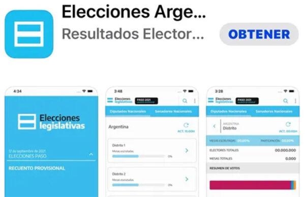 """""""Elecciones Argentinas 2021: las PASO se podrán seguir desde una app 2"""