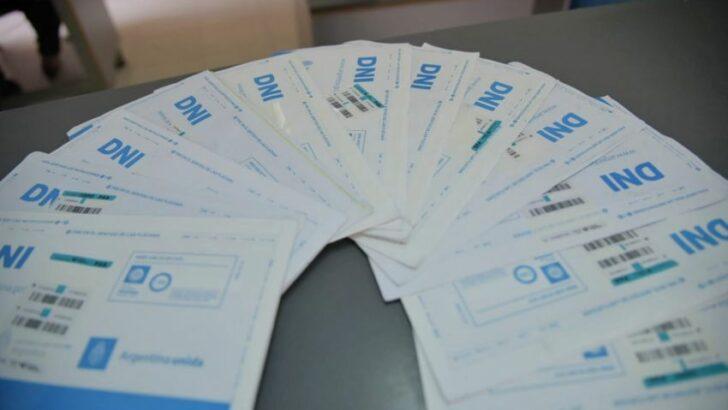 Elecciones: se entregaron más de 600 DNI durante el fin de semana