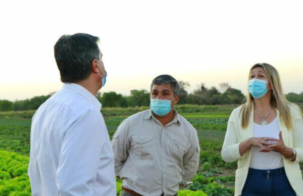 En el Día del Agricultor y Agricultora, Capitanich visitó campos en Colonia Rivadavia y Avia Terai 2