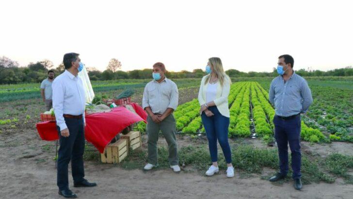 En el Día del Agricultor y Agricultora, Capitanich visitó campos en Colonia Rivadavia y Avia Terai