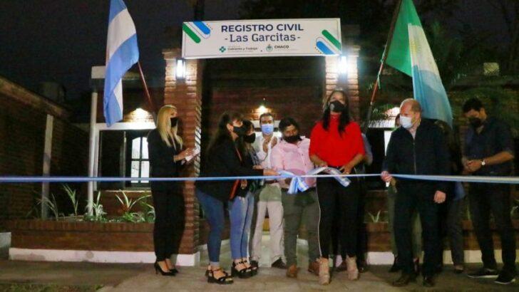 Entregaron viviendas, inauguraron el nuevo Registro Civil y habilitaron obras escolares en Las Garcitas