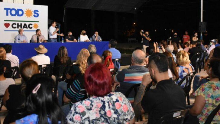 Gustavo Martínez y candidatos a diputados provinciales se reunieron con militantes de la zona noroeste de Resistencia