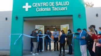 Inauguraron la ampliación y refacción del Centro de Salud de Colonia Tacuarí