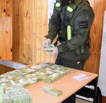 Lavado de activos en Corrientes: Gendarmería secuestró 5.498.500 millones de pesos