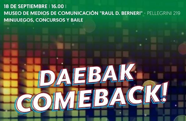 Llega Daebak comeback! al Museo de Medios