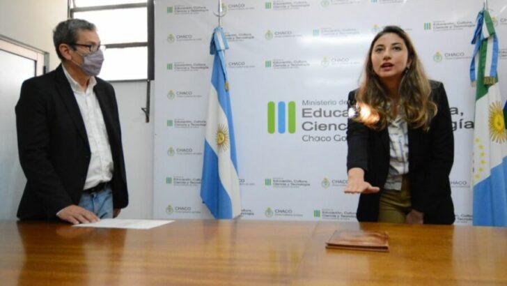 Ludmila Pellegrini asumió como subsecretaria de Educación