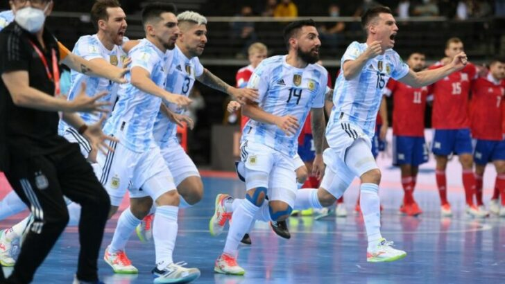 Mundial de futsal: Argentina busca la final frente a Brasil